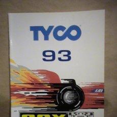 Juguetes antiguos: CATALOGO SCALEXTRIC SCX 1993 UK. Lote 28049763