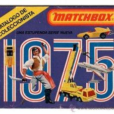 Brinquedos antigos: CATÁLOGO DE COLECCIONISTA MATCHBOX 1975. Lote 28263393
