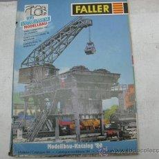 Juguetes antiguos: FALLER - 1984 -CATALOGO DE MAQUETAS PARA H0 -. Lote 29047574
