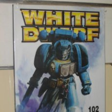 Jouets Anciens: WHITE DWARF Nº 102 - GAMES WORKSHOP WARHAMMER OFERTA. Lote 29086990