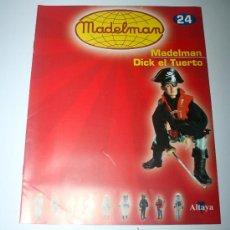 Juguetes antiguos: FASCICULO MADELMAN DE LA COLECCION ALTAYA - NUEVO A ESTRENAR. Lote 29477941