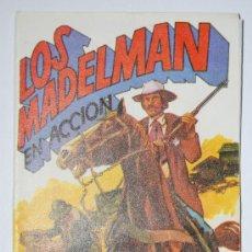 Juguetes antiguos: CATALOGO LOS MADELMAN EN ACCION. Lote 29493552