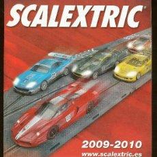 Juguetes antiguos: CATALOGO DE SCALEXTRIC 2009-2010. 47 PAGINAS. Lote 29567731