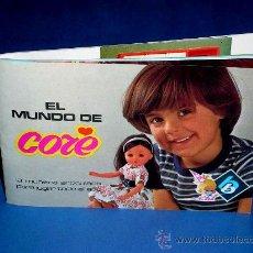 Juguetes antiguos: CATÁLOGO MUÑECA CORE DE BB, CON 32 PÁGINAS EN COLOR. ORIGINAL AÑO 1977.. Lote 125237591
