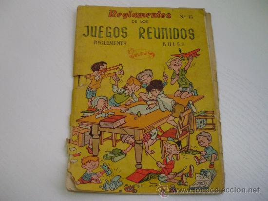 Antiguo Reglamento De Los Juegos Reunidos Geype Comprar Catalogos