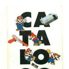Juguetes antiguos: CATALOGO JUEGOS NINTENDO 1993. Lote 29882227