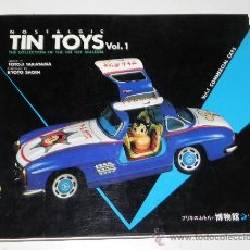 Juguetes antiguos: LIBRO NOSTALGIC TIN TOYS, VOL. 1: COMMERCIAL CARS (THE COLLECTION OF THE TIN TOY MUSEUM), AÑO, 1989,. Lote 29822650