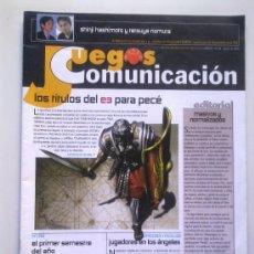 Juguetes antiguos: REVISTA JUEGOS PUNTO COMUNICACION Nº 34 - AGOSTO 2002 - LOS TITULOS DEL E3 PARA PECE,ETC - 32 PGS. Lote 29886909