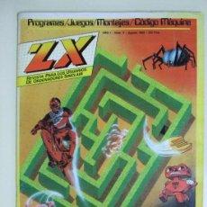 Juguetes antiguos: REVISTA ZX - JUEGOS, PROGRAMAS PARA ORDENADORES SINCLAIR , SPECTRUM - Nº 9 - AGOSTO AÑO 1984. Lote 38559528