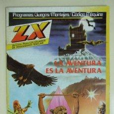 Juguetes antiguos: REVISTA ZX - JUEGOS, PROGRAMAS PARA ORDENADORES SINCLAIR , SPECTRUM - Nº 8 - JULIO AÑO 1984. Lote 38559598