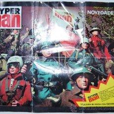 Juguetes antiguos: GEYPERMAN GEYPER MAN CATALOGO NOVEDADES 1978. Lote 29960041
