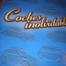 Juguetes antiguos: COCHES INOLVIDABLES,TAPAS Y FASCICULOS,LEER DECRIP.. Lote 30100633
