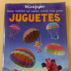 Juguetes antiguos: CATALOGO DE JUGUETES DEL CORTE INGLES NAVIDAD 2010.NUEVO,MAS DE 100 PAGINAS A COLOR.. Lote 30128139