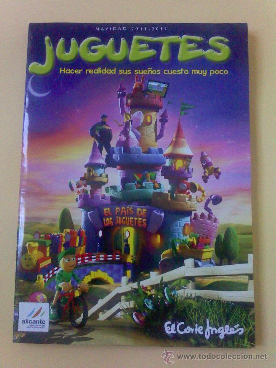 CATALOGO DE JUGUETES DEL CORTE INGLES ,NAVIDAD 2011.MAS DE 100 PAGINAS A COLOR.NUEVO SIN USO. (Juguetes - Catálogos y Revistas de Juguetes)