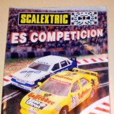 Juguetes antiguos: SCALEXTRIC ... ES COMPETICIÓN - CATALOGO DE TYCO 1998 ( ALGUNA ARRUGA Y MARCA ) - 8 PÁGINAS. Lote 30169916