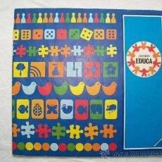 Juguetes antiguos: CATALOGO JUEGOS Y PUZZLES EDUCA. Lote 58160885