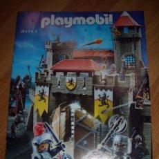Juguetes antiguos: CATALOGO PLAYMOBIL 2011. Lote 30240783