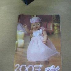 Juguetes antiguos: CATÁLOGO 2007 ZAPF CREATION. Lote 30263379