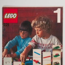 Juguetes antiguos: CATÁLOGO LEGO 221 - AÑO 1973. Lote 30374733
