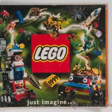 Juguetes antiguos: CATÁLOGO LEGO - AÑO 1999. Lote 30375090