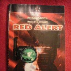 Juguetes antiguos: RED ALERT: - MANUAL DE INSTRUCCIONES DEL JUEGO - (EN LENGUA ESPAÑOLA). Lote 30518020