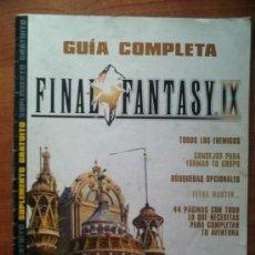 Juguetes antiguos: GUIA COMPLETA FINAL FANTASY IX. Lote 30681424