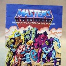 Juguetes antiguos: CATALOGO, JUGUETES, MASTER DEL UNIVERSO, 1984, HE MAN Y LA VENGANZA DE SKELETOR. Lote 30768000