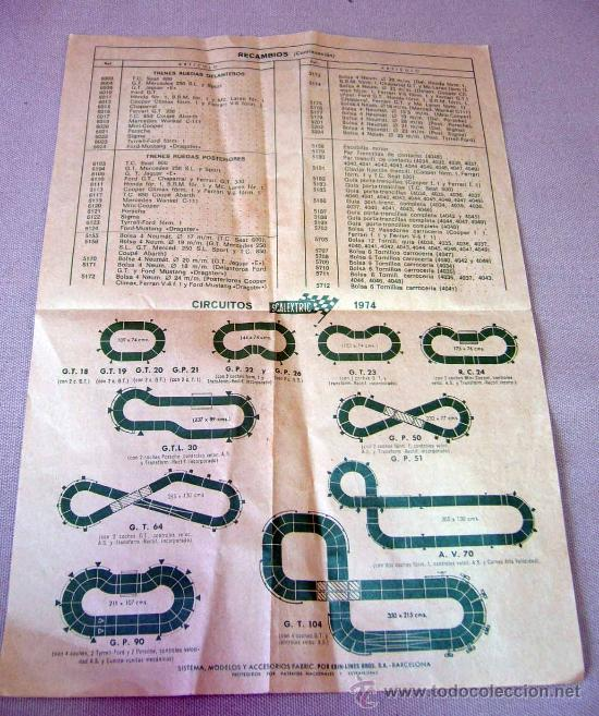 Juguetes antiguos: CATALOGO, SCALEXTRIC, TRAMOS ACCESORIOS Y RECAMBIOS, 8º EDICION, CHAPARRAL G.T. 6215 - Foto 4 - 30906486