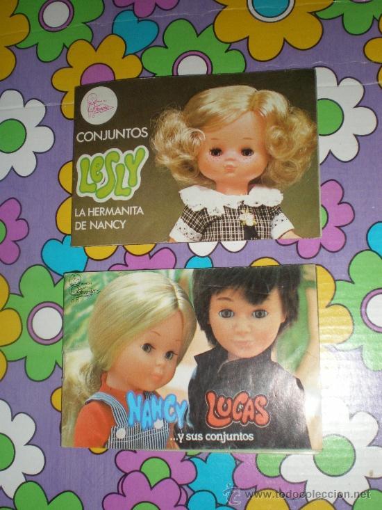 CATALOGOS DE NANCY Y LESLY AÑOS 70 (Juguetes - Catálogos y Revistas de Juguetes)