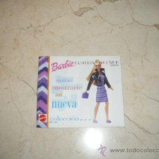 Juguetes antiguos: CATALOGO BARBIE FASHION AVENUE 111-1. Lote 30929348