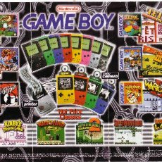 Juguetes antiguos: CATALOGO DE GAMEBOY NINTENDO 64 GAME BOY ENVIO GRATIS. Lote 31345720