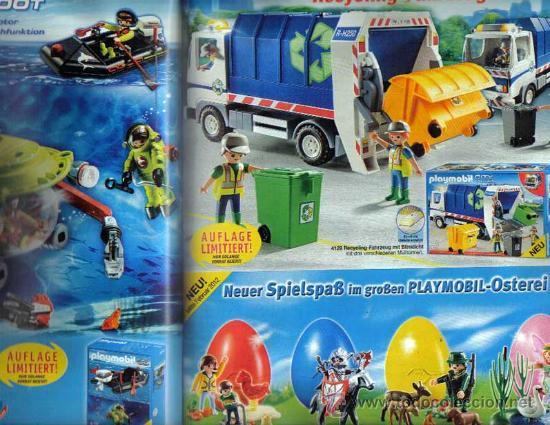 Juguetes antiguos: Catalogo playmobil aleman 2012 - Foto 2 - 32323077
