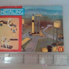 Juguetes antiguos: -CATALOGO N2 METALING -POCH 1970-133 MODELOS-. Lote 31537711