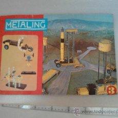 Juguetes antiguos: -CATALOGO N3 METALING -POCH 1970-183 MODELOS-. Lote 31537772