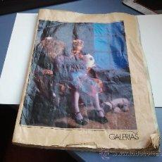 Juguetes antiguos: CATALOGO DE JUGUETES GALERIAS PRECIADOS 1987. Lote 31586804