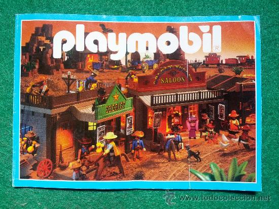 CATALOGO DE PLAYMOBIL GEOBRA DE 1998 (Juguetes - Catálogos y Revistas de Juguetes)
