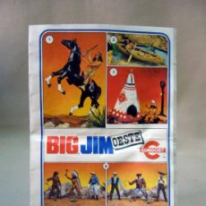 Juguetes antiguos: CATALOGO, CONGOST, BIG JIM, OESTE, 1978. Lote 31944490