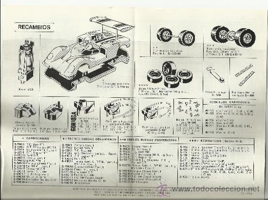 Juguetes antiguos: CATÁLOGO TRAMOS Y ACCESORIOS SCALEXTRIC - 1970 - Foto 2 - 32422715