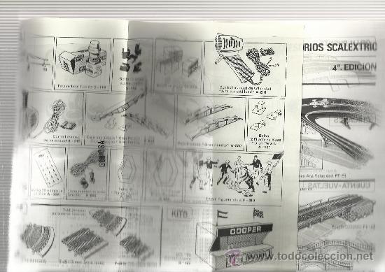 Juguetes antiguos: CATÁLOGO TRAMOS Y ACCESORIOS SCALEXTRIC - 1970 - Foto 3 - 32422715