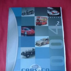 Juguetes antiguos: CATALOGO CARS & CO COMPANY 2004, DIE-CAST. Lote 32760354