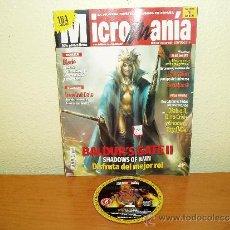 Juguetes antiguos: REVISTA MICROMANIA Nº 68 AÑO XVI CON CD-ROM BALDUR'S GATE II - HOBBY PRESS - CONSOLAS PC. Lote 32957826