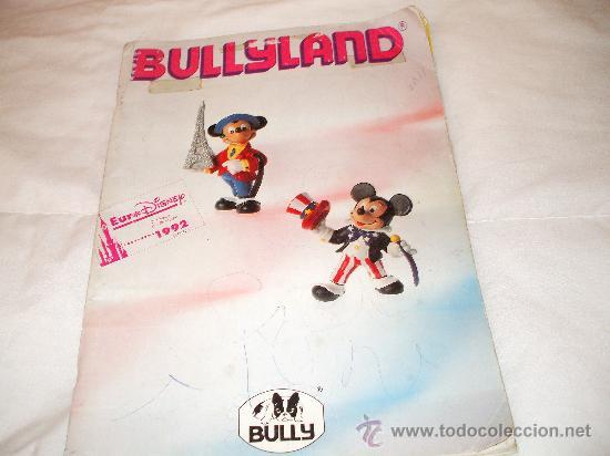 BULLYLAND CATALOGO GENERAL DE MUÑECOS P V C EURO DISNEY 1992 (VER FOTOS ADICIONALES Y LEERR DESCRIPC (Juguetes - Catálogos y Revistas de Juguetes)