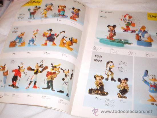 Juguetes antiguos: Bullyland catalogo general de muñecos P V C Euro Disney 1992 (ver fotos adicionales y leerr descripc - Foto 2 - 33026748