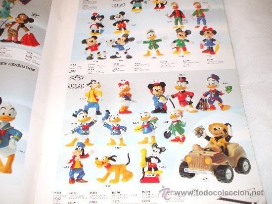 Juguetes antiguos: Bullyland catalogo general de muñecos P V C Euro Disney 1992 (ver fotos adicionales y leerr descripc - Foto 3 - 33026748