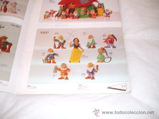 Juguetes antiguos: Bullyland catalogo general de muñecos P V C Euro Disney 1992 (ver fotos adicionales y leerr descripc - Foto 4 - 33026748