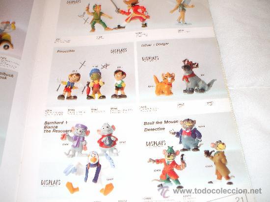 Juguetes antiguos: Bullyland catalogo general de muñecos P V C Euro Disney 1992 (ver fotos adicionales y leerr descripc - Foto 5 - 33026748