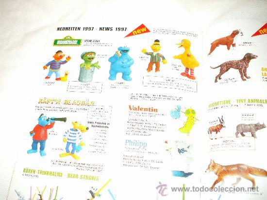 Juguetes antiguos: Bullyland catalogo general de muñecos P V C Euro Disney 1997 (ver fotos adicionales y leerr descripc - Foto 6 - 33029549