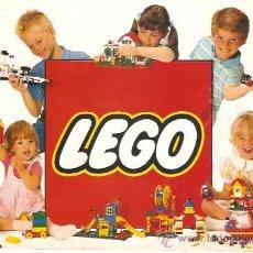 Juguetes antiguos: CATALOGO GENERAL LEGO 32 PAGINAS . Lote 33237876