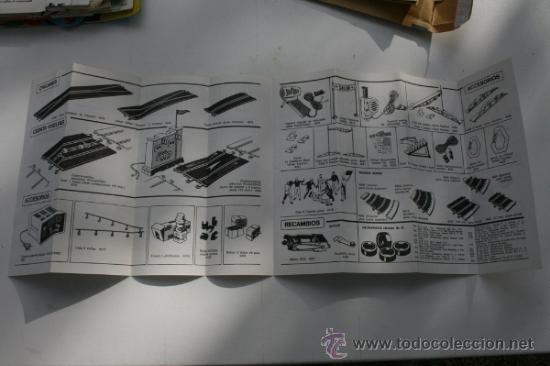 Juguetes antiguos: SCALEXTRIC CATALOGO TRAMOS ACCESORIOS Y RECAMBIOS 11ª EDICIÓN AÑOS 70 - Foto 2 - 33406921