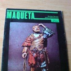Juguetes antiguos: REVISTA MAQUETA Nº 3 - MINIATURAS ( FIGURAS, SOLDADOS, TRENES, MATCHBOX) (VER IMAGENES ADICIONALES). Lote 33659881